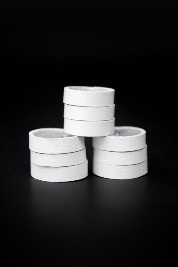 Набор колец TRES (белый)