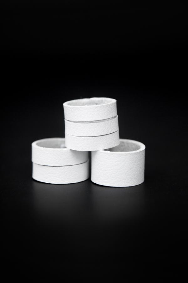 Набор колец MIX (белый)