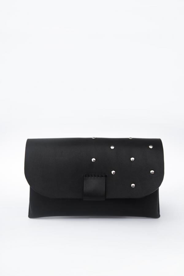 Hip leather belt bag